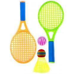 Набор для лета Бадминтон и теннис, 2 ракетки, воланчик, мячик