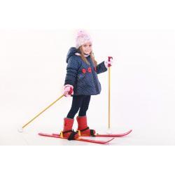 Лыжи с палками детские, арт. Т3350
