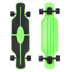 Скейтборд Longboard Shark Tir 31, с сумкой, цвет зелёный
