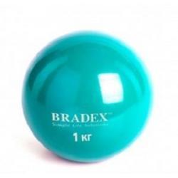 Медбол Bradex, 1 кг (арт. SF 0256)