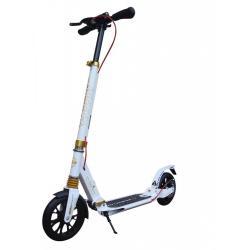 Самокат Sportsbaby City Scooter Disk Brake, цвет белый, арт. MS-118