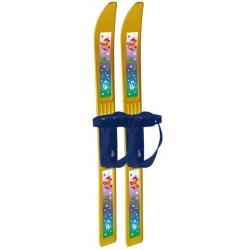 Лыжи детские Олимпик-спорт. Мишки с палками