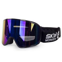 Очки горнолыжные Sky Monkey SR44 RV BL