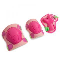Защита роликовая Start Up Fun, размер M, цвет розовый