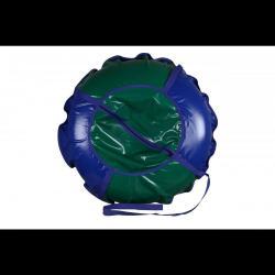 Санки надувные Ватрушка с молнией, 100 см