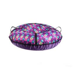Санки-ватрушка Диско, диаметр 100 см