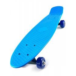 Скейт детский для начинающих, 41 см, цвет голубой