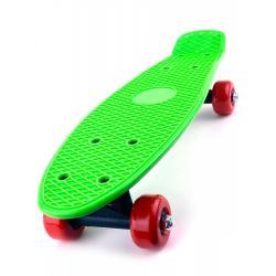 Скейт детский для начинающих, 41 см, цвет зеленый